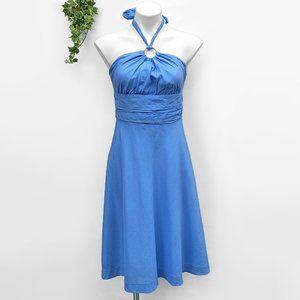 Lilly Pulitzer Silk Cotton Halter Sun Dress 6